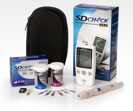 SD Check Gold Blood Glucose Meter