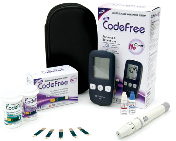 SD CodeFree Blood Glucose Meter